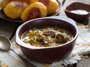 Delicious homemade kurban chorba