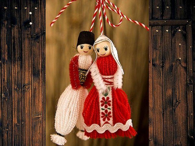 Martenitsa Pijo and Penda for door