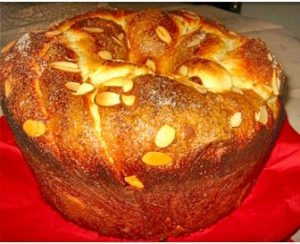 traditional Easter sweet bread