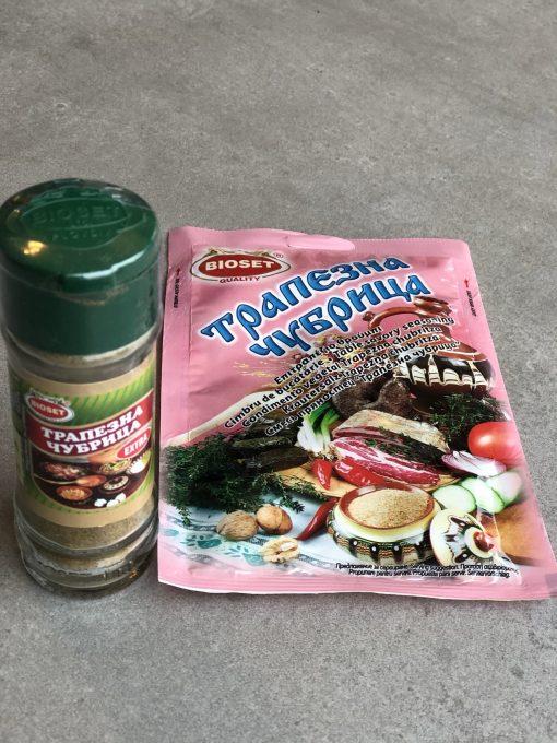 Savory Chubritsa, Trapezna – Glass Shaker and Refill1
