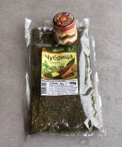 Savory Chubritsa and sharena salt