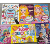 Set of Coloring Books